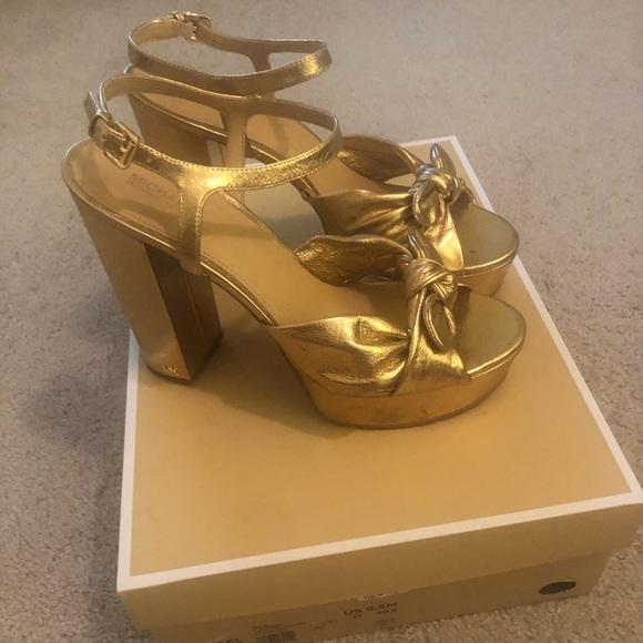 Michael Kors Shoes   Michael Kors Gold
